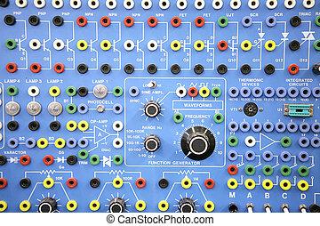 -, adulto, elettronica, ed, sistemi, laboratorio