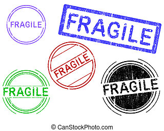 -, francobolli, fragile, grunge, 5