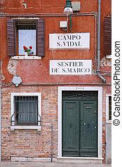 -, venezia italia, vista