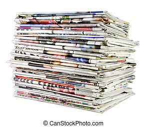 02, giornali, pila