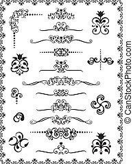 1, disegno, ornamenti