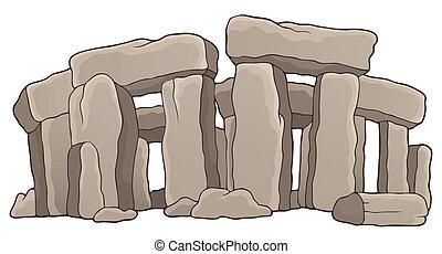1, pietra, antico, tema, monumento