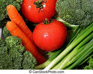 1, verdure fresche