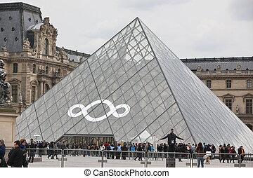 10, 2012, famoso, persone, parigi, -, museo, louvre, 27, parigi, la maggior parte, france., 2013, aprile, andare, visited, 27:, più, mondo, millions