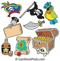 10, pirata, collezione