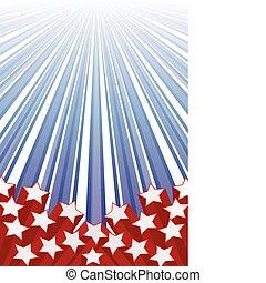 10.0, elementi, bandiera usa, eps, illustrazione, vettore, fondo