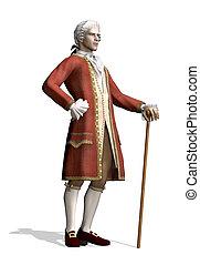 18 secolo, uomo