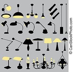 2-2, lampade, collezione