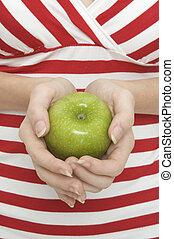 2, mela verde