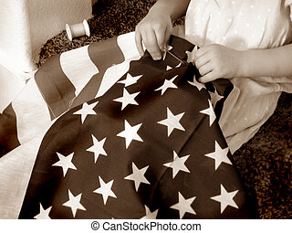 2, patriottismo, retro