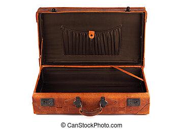 2, retro, valigia