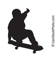 2, skateboarder