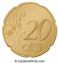 20, centesimo, euro