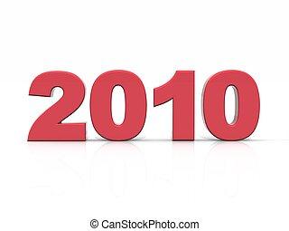 2010, rosso, anno