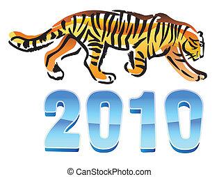 2010, tiger, anno