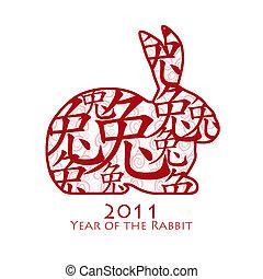 2011, coniglio, cinese, anno