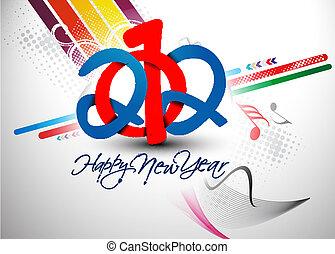 2012, fondo, anno nuovo