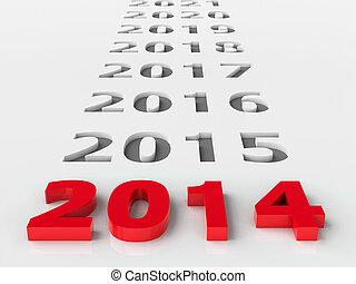 2014, futuro