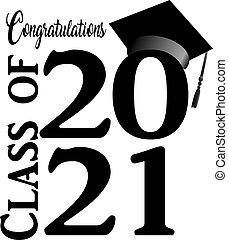 2021, congratulazioni, grafico, classe, accatastato