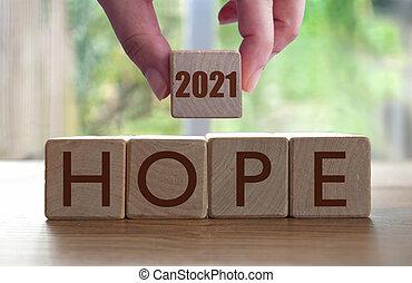 2021, speranza