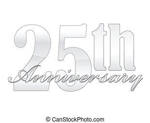 25, anniversario