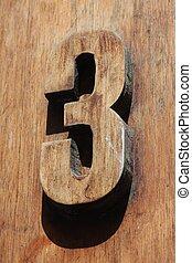 3, numero