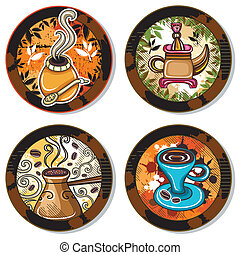4, bevanda, coasters