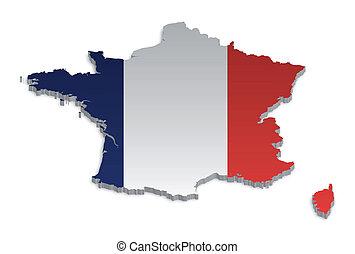 4, francia, mappa