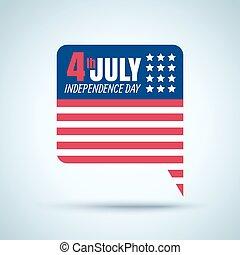 4 luglio, festa indipendenza americana