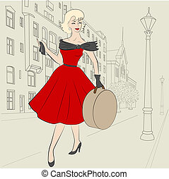 50s, donna