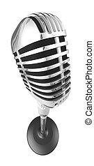 50s, microfono