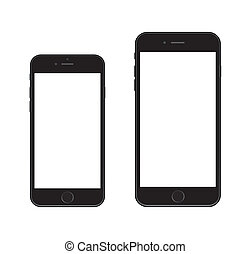 6, nuovo, iphone, smartphone