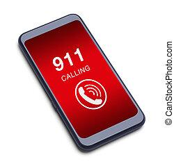 911, telefonata, far male