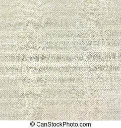 abbronzatura, tela ruvida, vendemmia, struttura, lino, fondo, beige, naturale