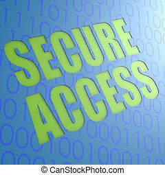 accesso, assicurare