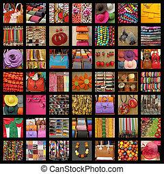 accessori, collage