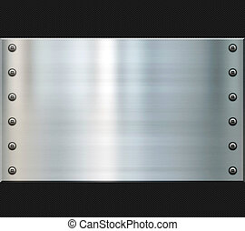 acciaio, carbonio, fibra, fondo
