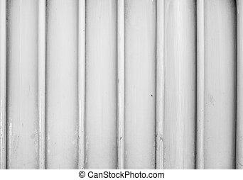 acciaio, vecchio, semplice, parete, fondo, porta