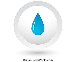acqua blu, goccia