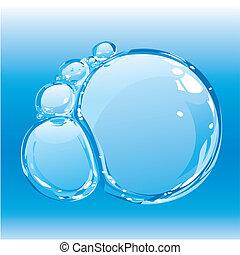 acqua, bolle