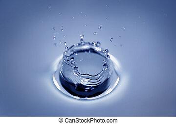 acqua, cratere