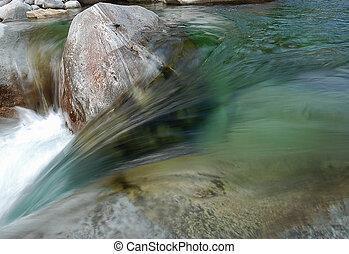 acqua, fluente