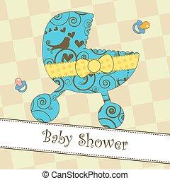 acquazzone bambino, arrivo, o, scheda