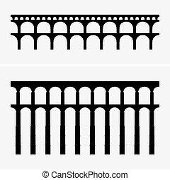 acquedotto, ponti, romano