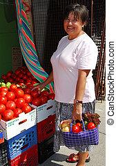 acquisto, verdura