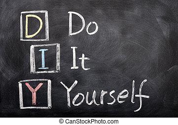 acronimo, esso, bricolage, te stesso