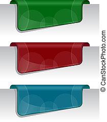adesivi, bordo, (web), pagina
