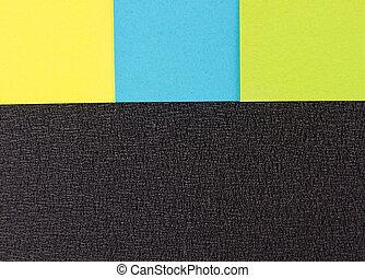 adesivi, sfondo colorato
