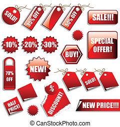 adesivi, vendite, etichette