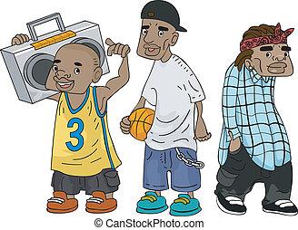 adolescenti, africano-americano